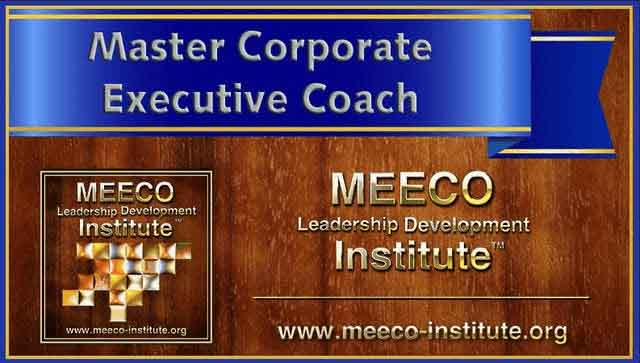 master corporate executive coach